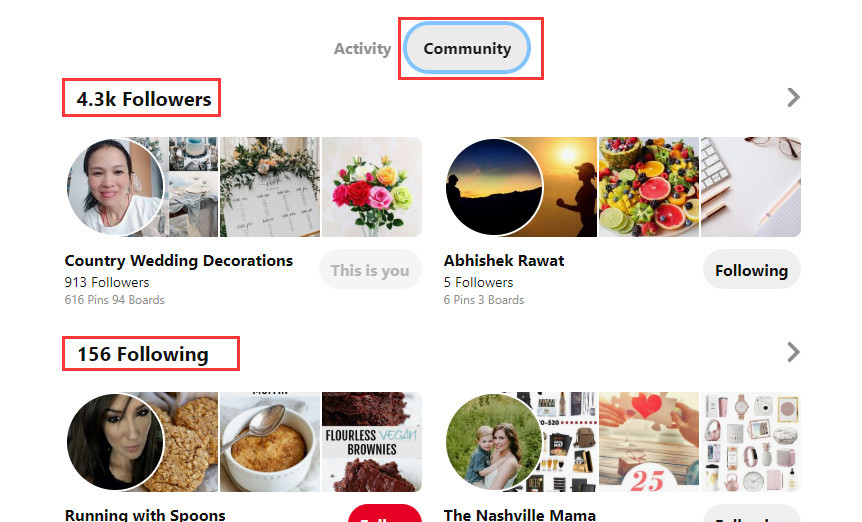 10 hack secrets to get more followers on Pinterest see all boards-competitors