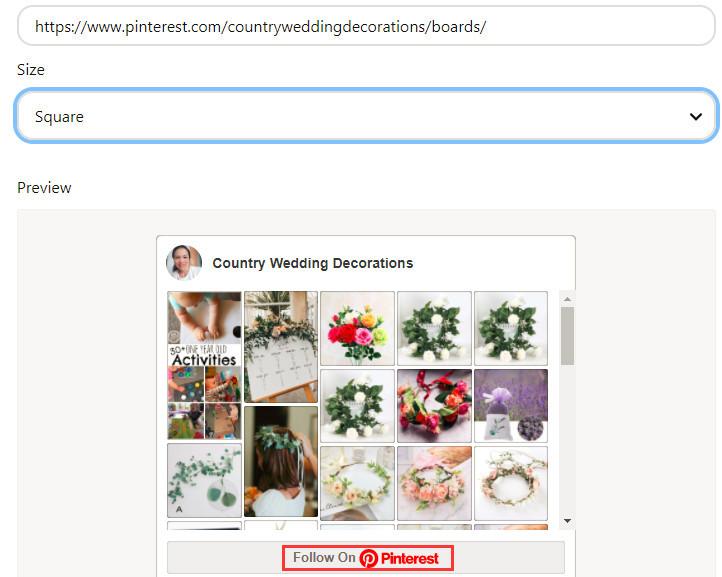 10 hack secrets to get more followers on Pinterest widget